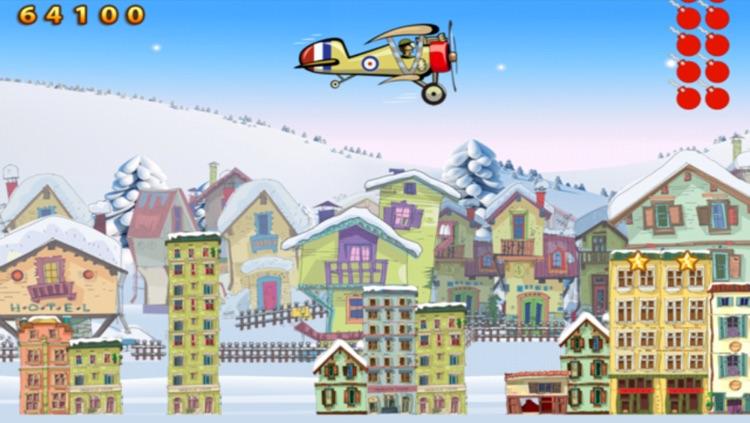 Winter Bomber Air Plane WWI - Free Version screenshot-3