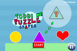 Screenshot of Toddler Puzzle Shapes1