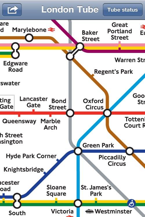 London Tube Map & Status