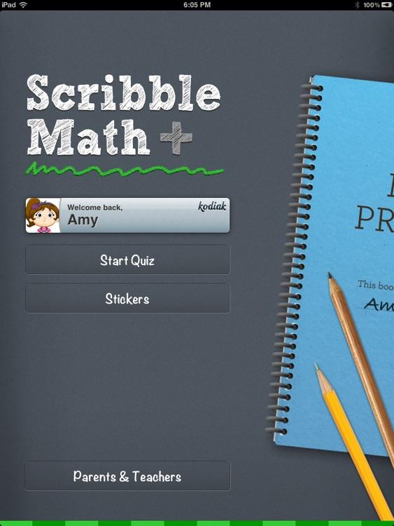 ScribbleMath Addition