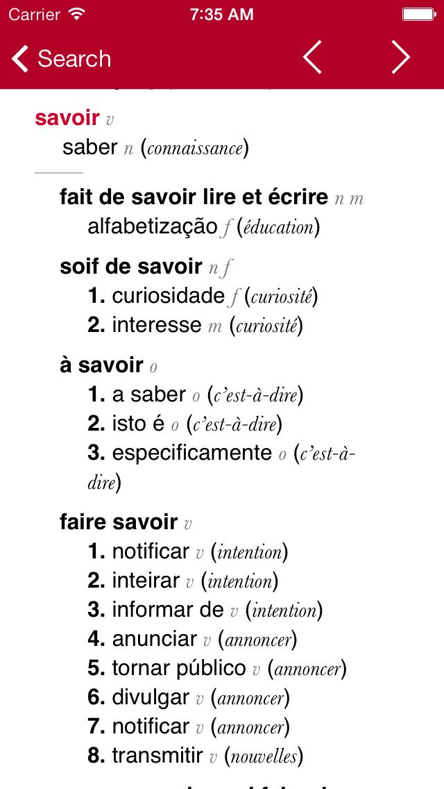 点击获取French-Portuguese Dictionary from Accio