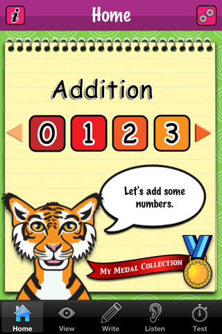 Addition Fun -- Let's add some numbers screenshot one