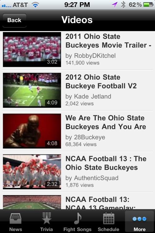 Ohio State Buckeyes Trivia, News and More screenshot-4