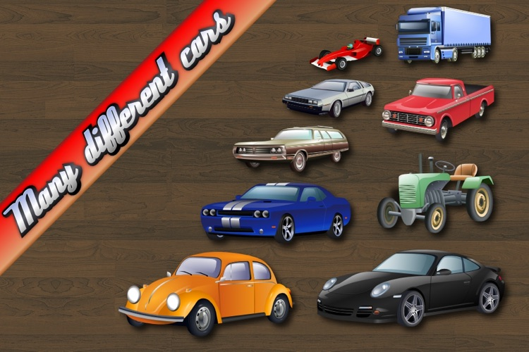 Car Puzzle for Toddlers and Kids screenshot-4