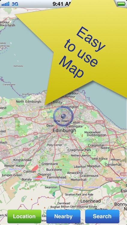 Edinburgh No.1 Offline Map