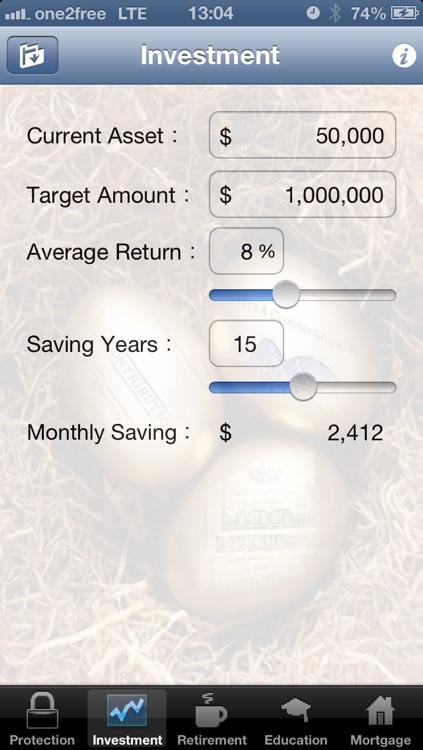 FinPlan - Financial Planning Tools