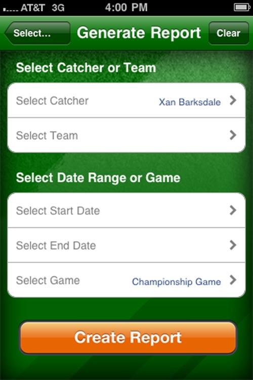 Catcher's Performance Summary screenshot-4