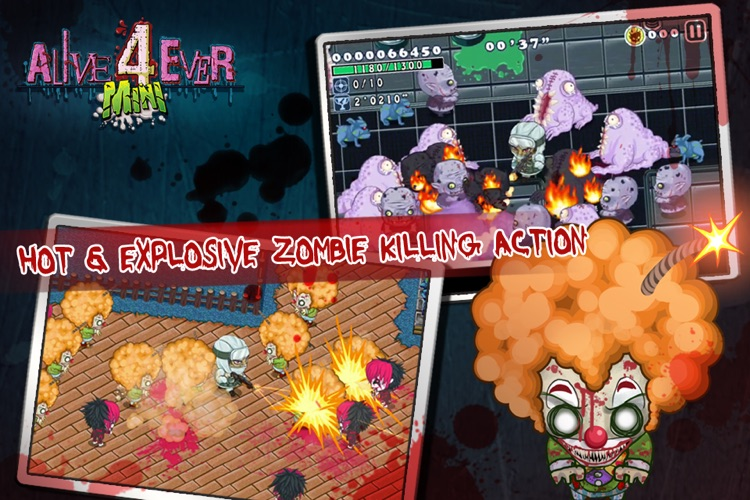 Alive4ever mini: Zombie Party screenshot-4