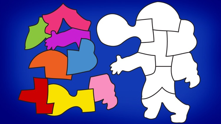 Shape Builder - the Preschool Learning Puzzle Game screenshot-4