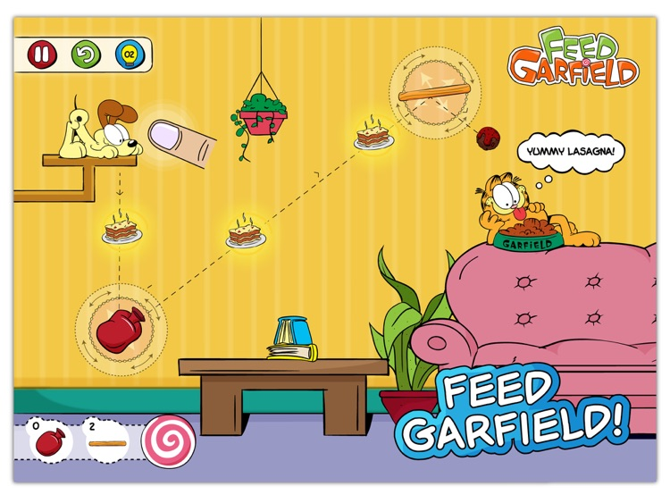 Alimenta a Garfield HD screenshot-1