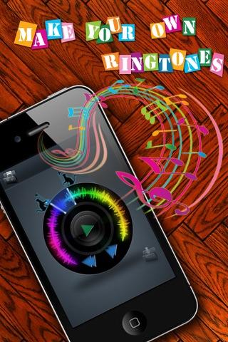 Ringtones Maker - Make Ringtones from your Music Library Скриншоты3