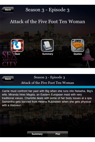 Sex and the City Fan App screenshot1