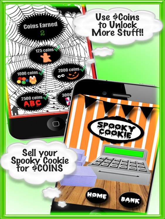 Spooky Cookie FREE HD screenshot-3