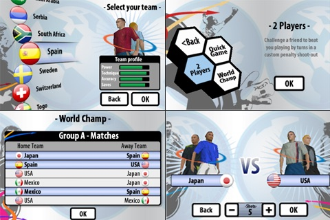 3D Penalty Football World Champ screenshot-3