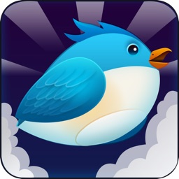 Brave Bird--The flappy adventure of a flying birdie-play with your friends on Facebook&Tweete
