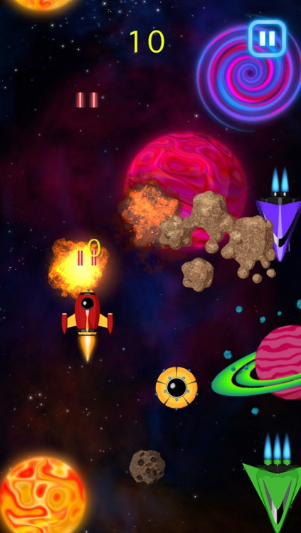 Total Galaxy Alien UFO Attack Game
