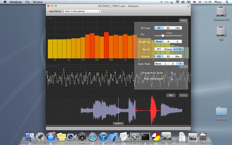 iAnalyzer for Mac