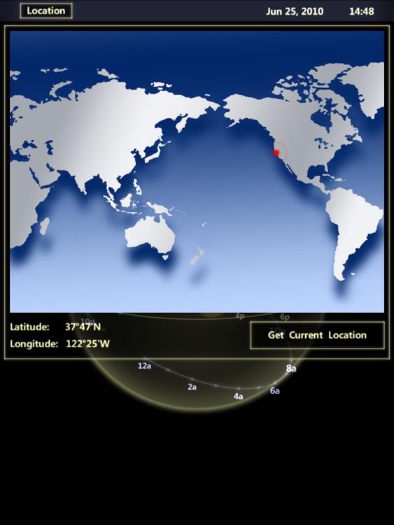 3D Sun&Moon Compass HD screenshot-4
