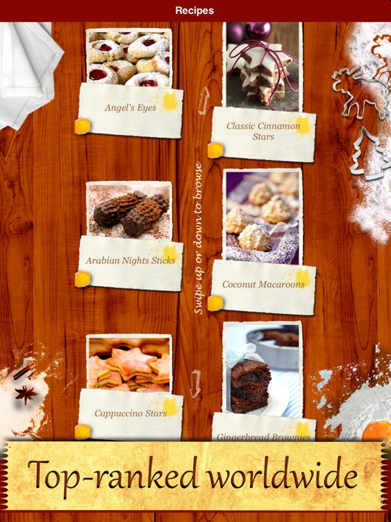 Christmas Cookies - Heavenly Holiday Recipes Made by Angels! screenshot-2