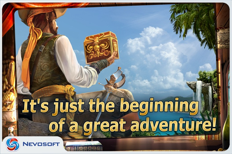 Pirate Adventures lite: hidden object game screenshot-4