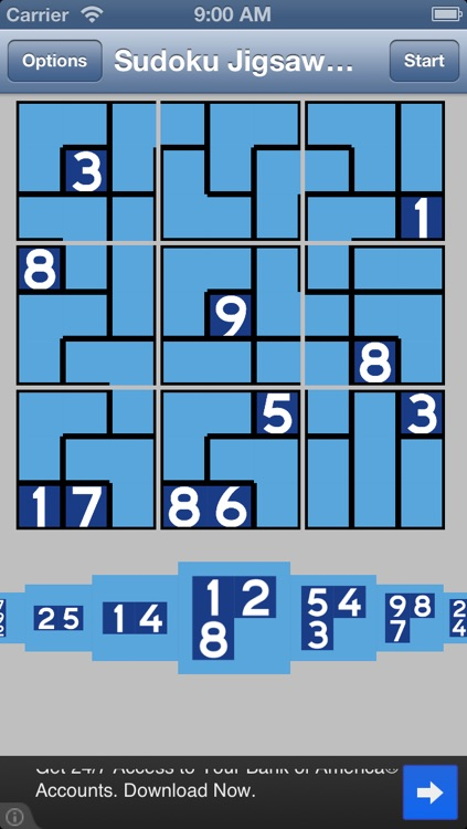 Sudoku Jigsaw Daily free puzzle game screenshot-1