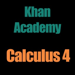 Khan Academy: Calculus 4
