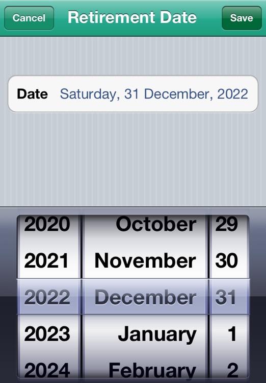 My Retirement Countdown screenshot-3