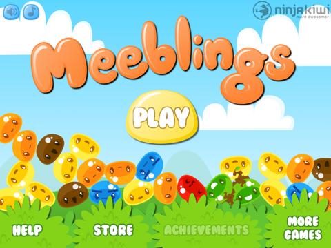 Meeblings iPad app afbeelding 1