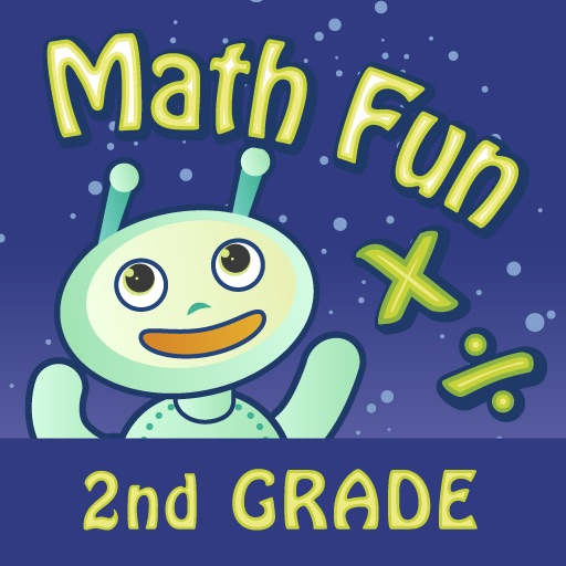 Math Fun 2nd Grade: Multiplication & Division HD icon