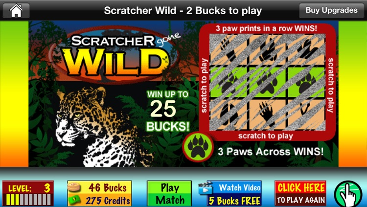 Scratchers - Free Instant Scratch Off Lucky Lottery Tickets screenshot-3