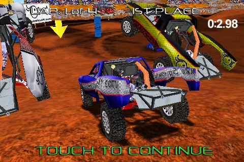 Pro Truck Rally Lite screenshot-3