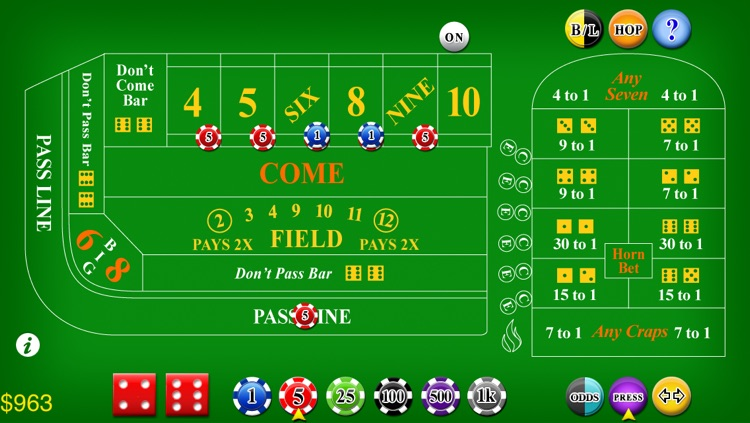 Craps Deluxe screenshot-0
