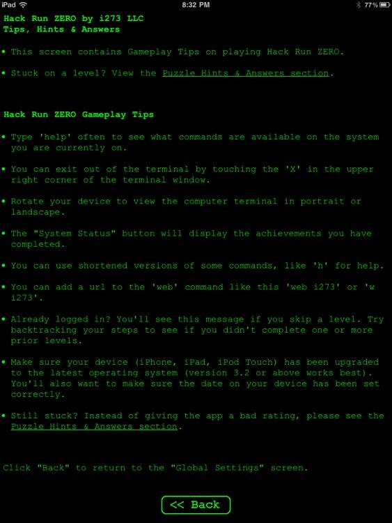 Hack RUN 2 - Hack ZERO HD screenshot-3