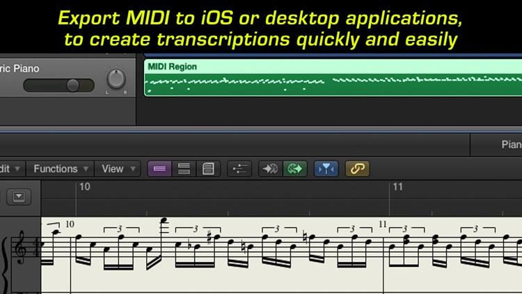 MIDImorphosis - Polyphonic Audio to MIDI Conversion screenshot-4