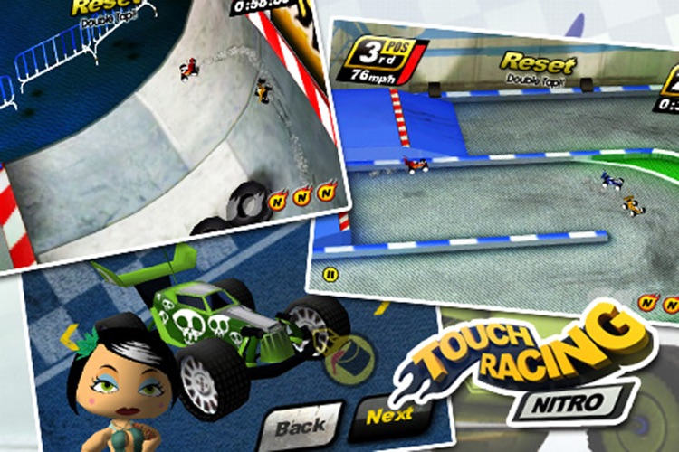 Touch Racing screenshot-1