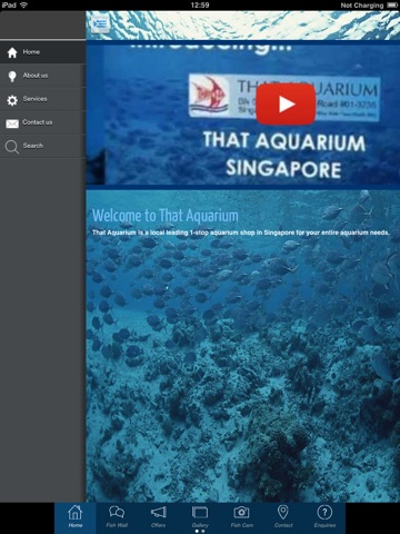 Screenshot of That Aquarium Shop Singapore
