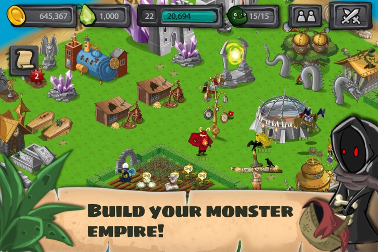 Monster Village - Angry Monsters Farm