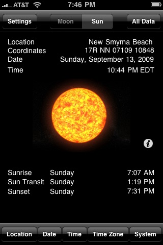 Clever Moon and Sun Calculator screenshot-4