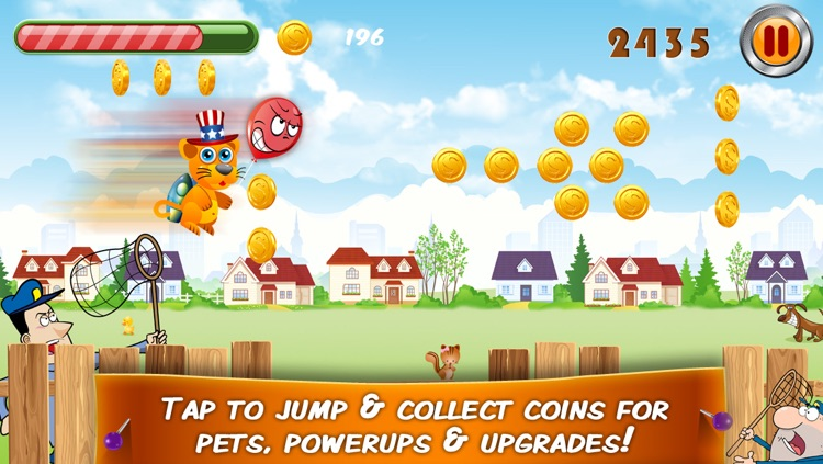 Great Pet Escape – Help the happy pets jump to freedom!