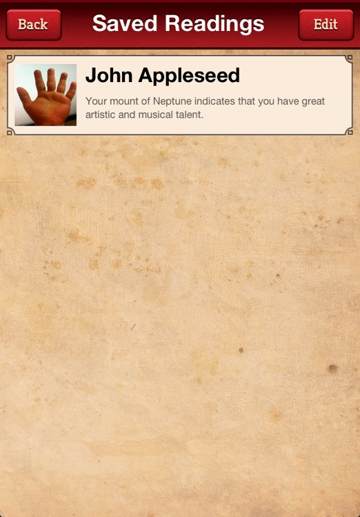 Palm Reading Booth Free - Just like Horoscopes and Tarot Cards for your hand! screenshot-4