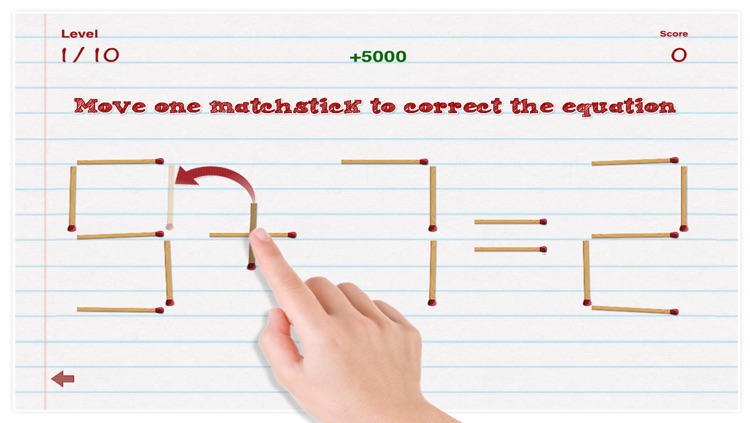 Matchmatics Lite - The Matchstick Math Puzzle Game