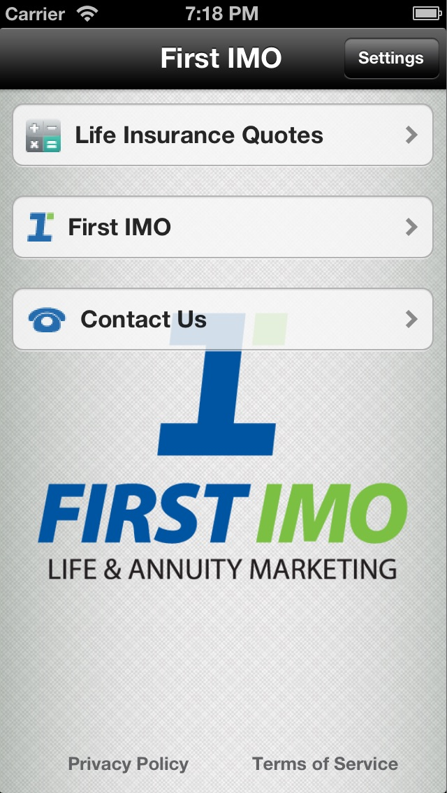 Life Insurance Quotes - First IMO - App - Download Apps Store | App Stow