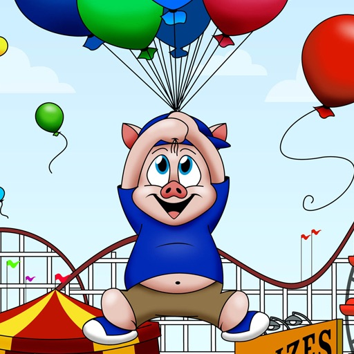 Oinky Piggy in the Big Amusement Park