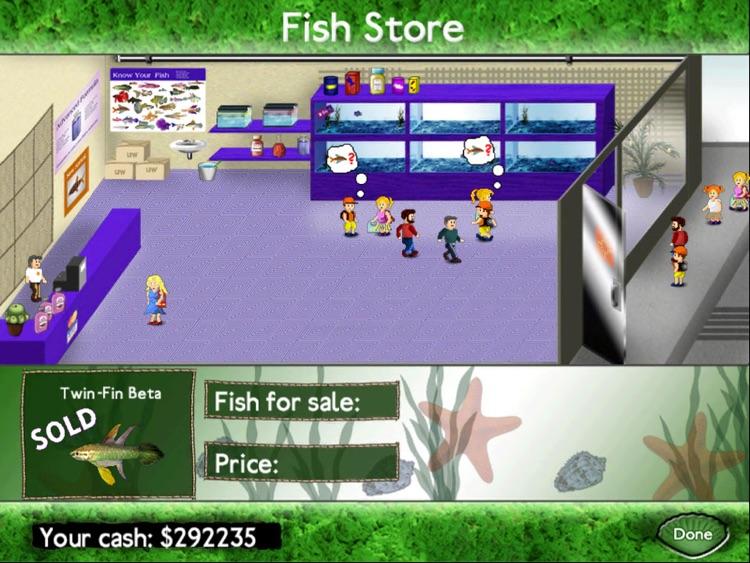 Fish Tycoon Free for iPad