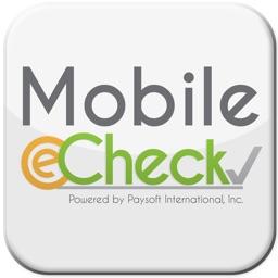 Mobile e-Check