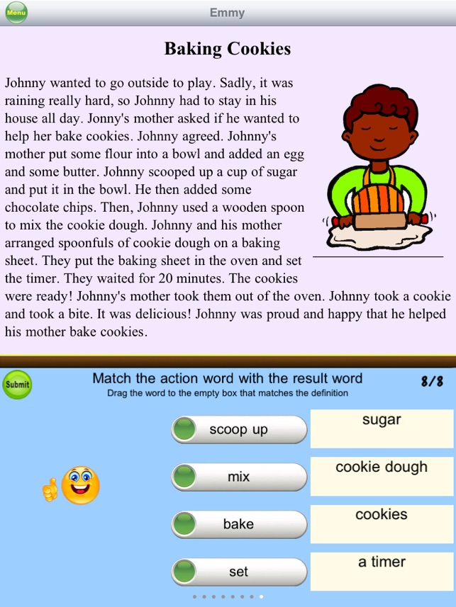 ‎AbiTalk Second Grade Reading Comprehension Fiction Free ...