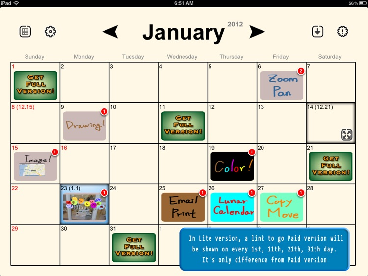 Absolute Board Calendar Free