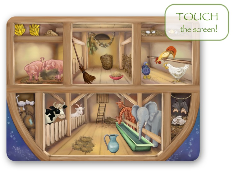Bible Stories for Children: Noah's Ark HD screenshot-2