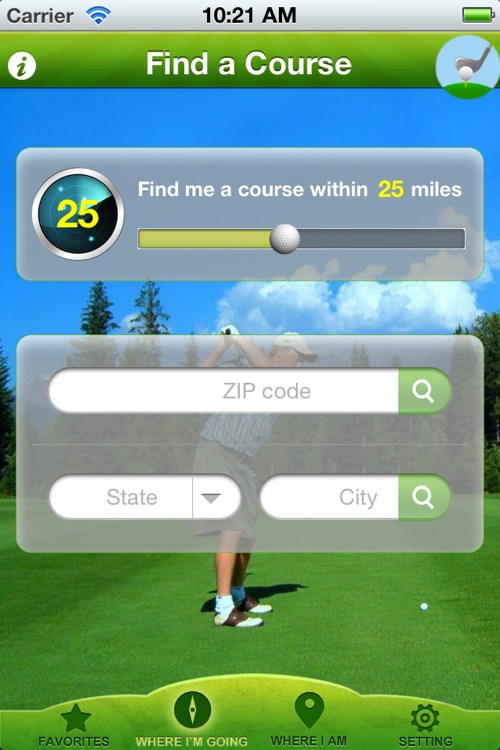 Golf Course Finder Pro screenshot-0