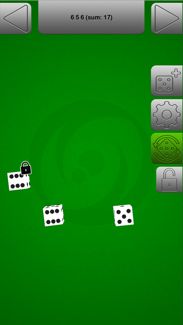 The Game Dice Roller screenshot one